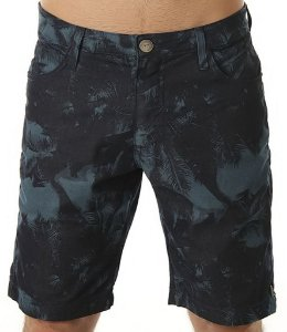 Bermuda Jeans Folhagens