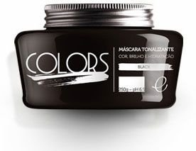 Portier Colors Matizador Hidratante Black 250gr Fine Cosméticos