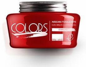 Portier Colors Matizador Hidratante Vermelho 250gr Fine Cosméticos