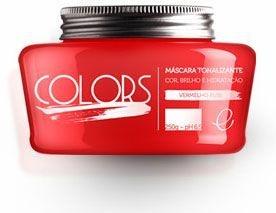 Portier Colors Matizador Hidratante Vermelho Rubi 250gr Fine Cosméticos