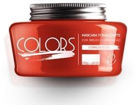 Portier Colors Matizador Hidratante Cobre Intenso 250gr Fine Cosméticos