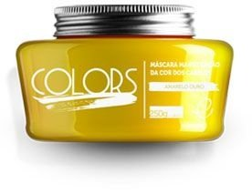 Portier Colors Matizador Hidratante Amarelo Ouro 250gr Fine Cosméticos