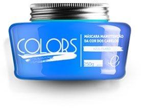 Portier Colors Matizador Hidratante Azul Claro 250gr Fine Cosméticos