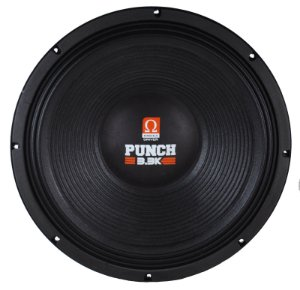 Woofer Omega Driver Punch 3.3k 18 Pol 1650 Watts RMS