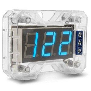 Voltímetro Digital Expert Electronics VEX 1.0 LED Azul