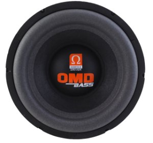 Subwoofer Omega Driver OMD BASS 10 Pol 200 Watts Rms