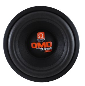Subwoofer Omega Driver OMD BASS 300 10 Pol 300 Watts RMS