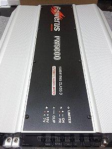 Amplificador Powerus PW5000 BLACK 6400 Watts RMS - Classe D