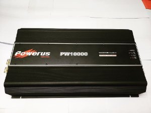 Amplificador Powerus PW10000 BLACK 11900 Watts RMS - Classe D