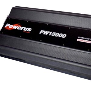 Amplificador Powerus PW15000 BLACK 17808 Watts RMS - Classe D