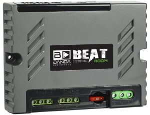 Amplificador Banda Audioparts BEAT 800.4 800 Watts RMS 4 Canais