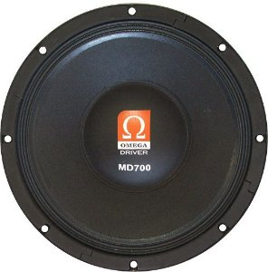 Woofer Omega Driver MD700 12 Pol 700 Watts RMS
