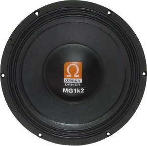 Woofer Omega Driver MG1k2 12 Pol 600 Watts RMS