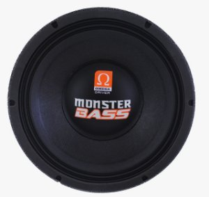 Woofer Omega Driver Monster Bass 15 Pol 900 Watts RMS