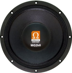 Woofer Omega Driver MG2k6 12 Pol 1300 Watts RMS