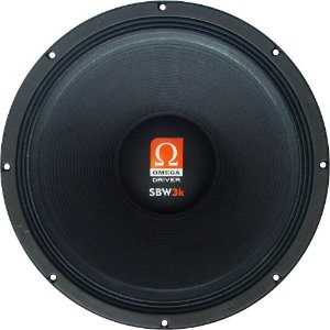 Subwoofer Omega Driver SBW 3k 18 Pol 1500 Watts RMS