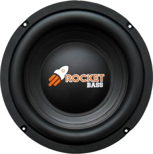 Subwoofer Omega Driver Rocket Bass 8 Pol 200 Watts RMS
