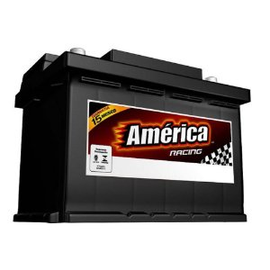 Bateria de Partida America Racing AM70ND 70 Ah - RC 110 Min - CCA 490A