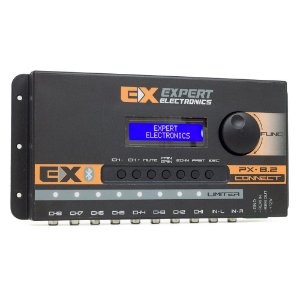 Processador de Audio PX8.2 Connect Expert Electronics - 8 Vias - Bluetooth