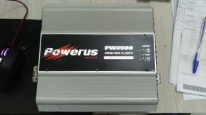 Amplificador Powerus PW3500 4 Ohms - SEMINOVO