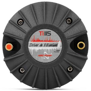 Driver Titânio Hard Power Ti 115 75 Watts RMS