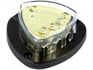Bloco Distribuidor DB-16 4 Vias para Cabo 35mm²