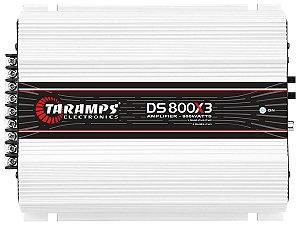 Amplificador Taramps DS800x3 800 Watts RMS 3 Canais