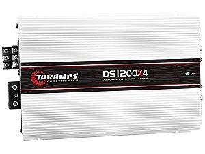 Amplificador Taramps DS1200x4 1200 Watts RMS 4 Canais