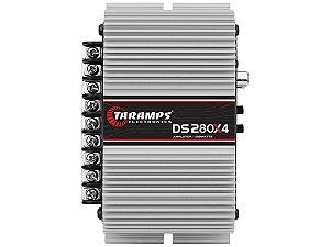 Amplificador Taramps DS280x4 280 Watts RMS 4 Canais
