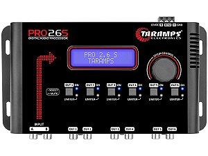 Processador de Audio Taramps PRO 2.6S - 6 Vias