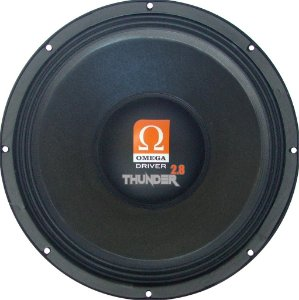 Woofer Omega Driver THUNDER 2.8 15 Pol 1400 Watts RMS