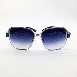 Óculos Quadrado Azul (Cód 138oc)