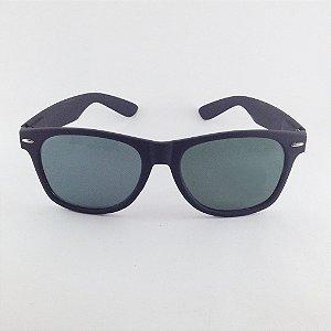 Óculos Wayfarer Preto Fosco (Cód 141oc)
