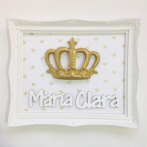 Quadro Decorativo Coroa
