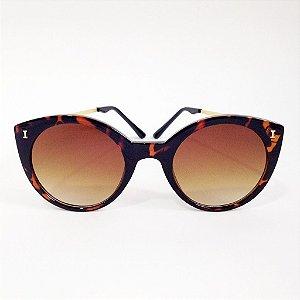 Óculos Gatinho Tartaruga (Cód 164oc)