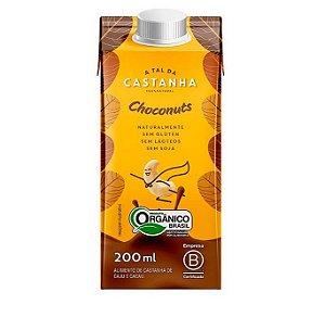 Bebida Choconuts de Castanha Vegetal  200 ml