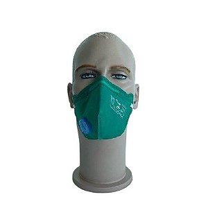 Respirador Descartável PFF2 VO GA Verde
