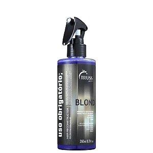 Truss Uso Obrigatório Blond - Tratamento Reconstrutor 260ml