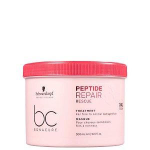 Schwarzkopf Professional BC Bonacure Peptide Repair Rescue Treatment - Máscara Capilar 500ml