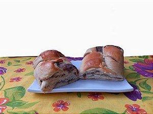 Pão Recheado Cenoura recheado c/ Chocolate 400g