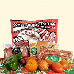 Cesta Camponesa Churras do Pai Agroecológico