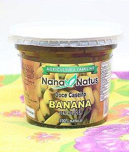 Doce de Banana (Sem Adição de Açúcar) 400g