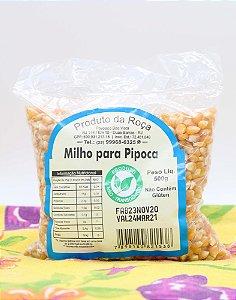 Milho de Pipoca Agroecológica 500g