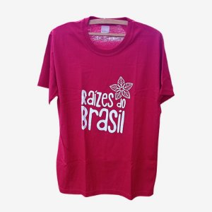 Camiseta Raízes do Brasil