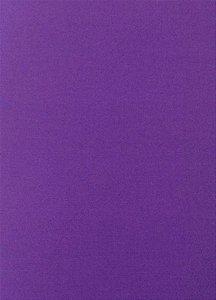 Tecido 100% algodão Liso Roxo Escuro - 0,50 metro