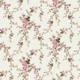 Tecido 100% algodão - Estampa Floral Sarah - 0,50 metro