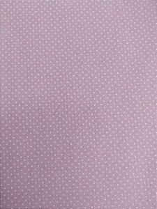 Tecido 100% algodão - Estampa Poá Rosa com Bolinhas Brancas -  0,50 metro