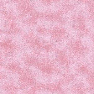 Tecido 100% algodão - Estampa Poeira Rosa Claro -  0,50 metro