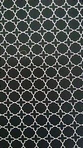 Tecido 100% algodão - Estampa Textura Preta -  0,50 metro