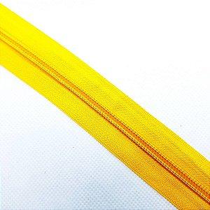 Zíper N°5 Amarelo - 1Metro